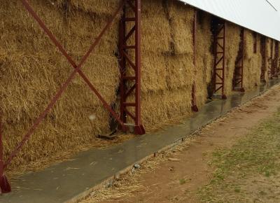 Склад сена (сенохранилище) в пос. Среднеивкино