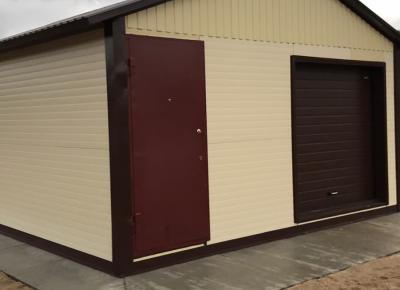 Ангар-гараж