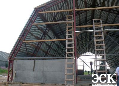 Арочный склад под зерно