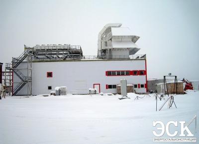Главный корпус энергоблока