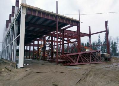 Здание ХВО (химвдоочистка) ПАО «Нефтяная компания «Лукойл»