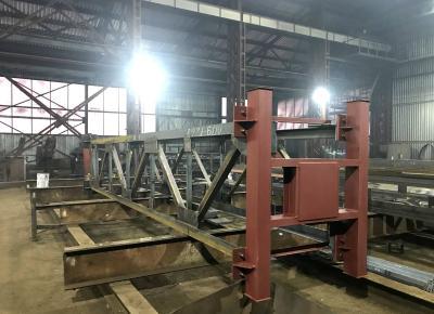 Готовим к отправке опоры для трубопровода