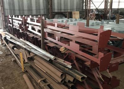 Отправляем металлоконструкции для строительства рынка в НАО
