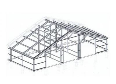 Металлоконструкции для реконструкции здания фермы
