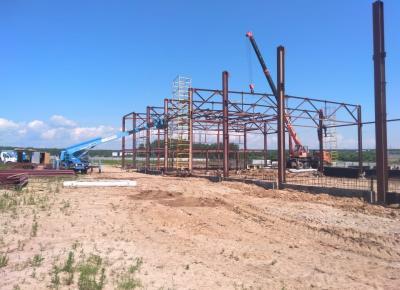 Крупный производственно-складской комплекс (корпус №1) в г. Чехов, Московской области